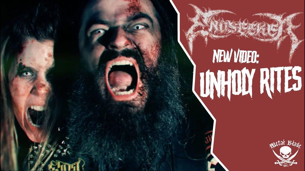 Endseeker aime Carcass et les rites sataniques - Unholy Rites (actualité)