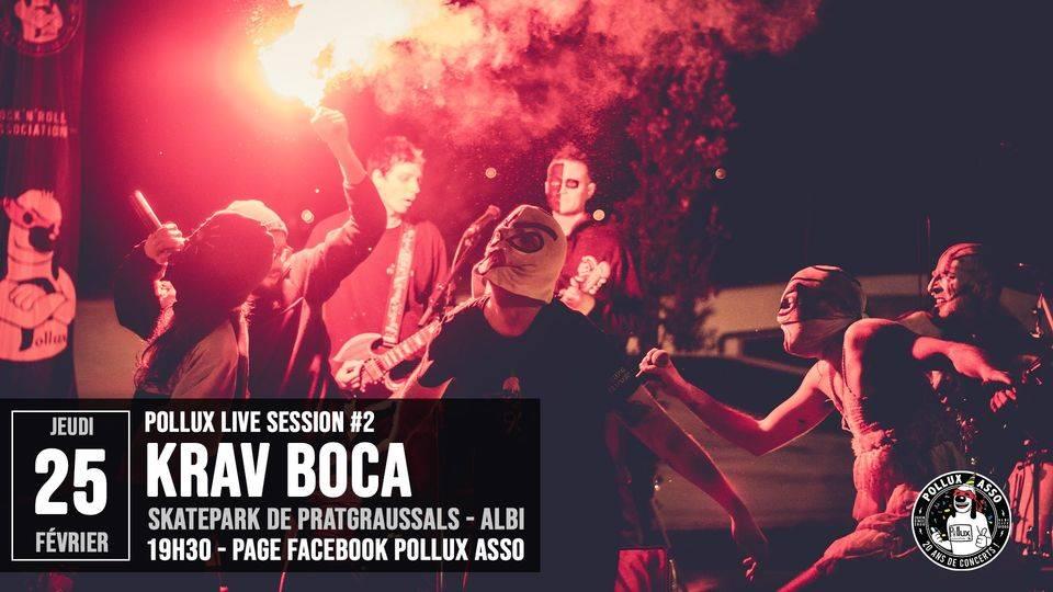 Krav Boca en live (enfin en stream) (actualité)