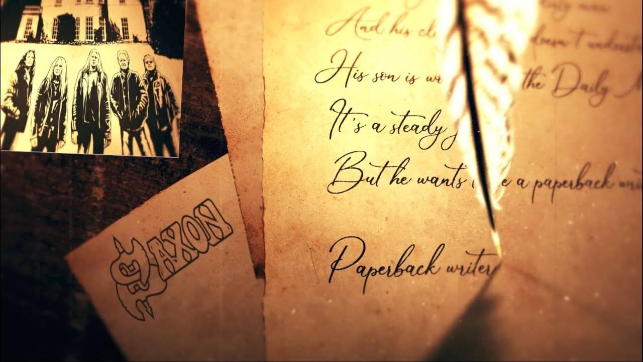 Saxon se lance dans l'écriture - Paperback Writer (actualité)