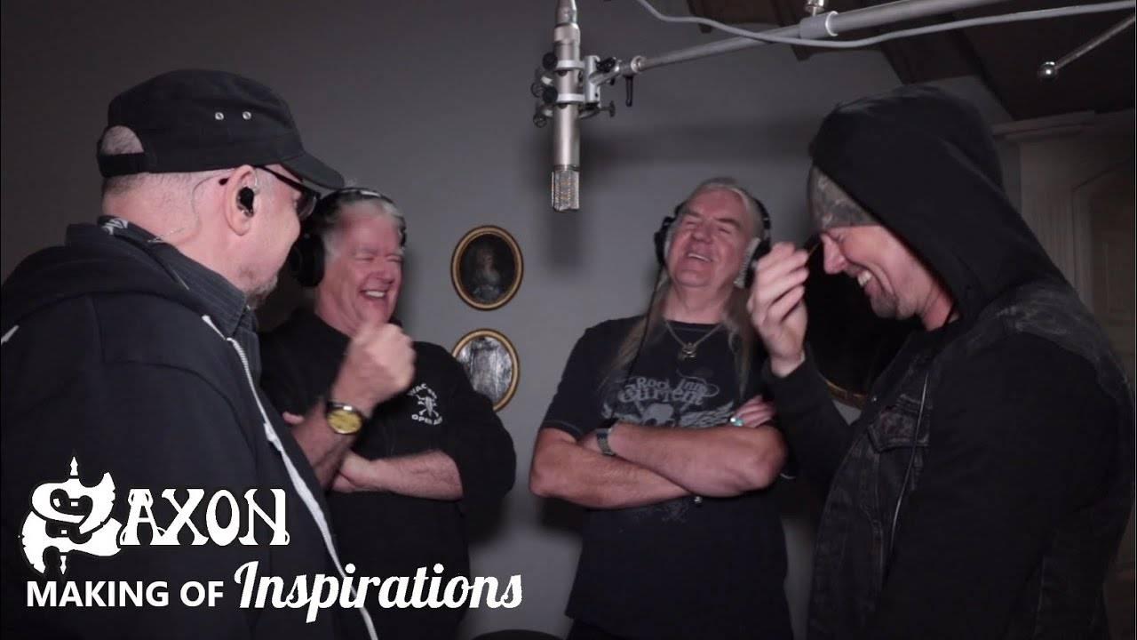 Mais d'où vient l'inspiration de Saxon -  Inspirations (Making Of Documentary) (actualité)
