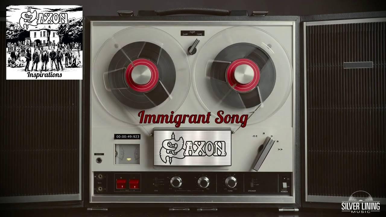 Saxon candidat à l'immigration - Immigrant Song (actualité)