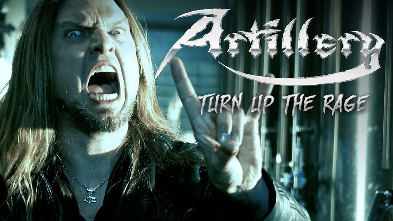 Artillery énervé comme Crom Cruach - Turn up the Rage (actualité)
