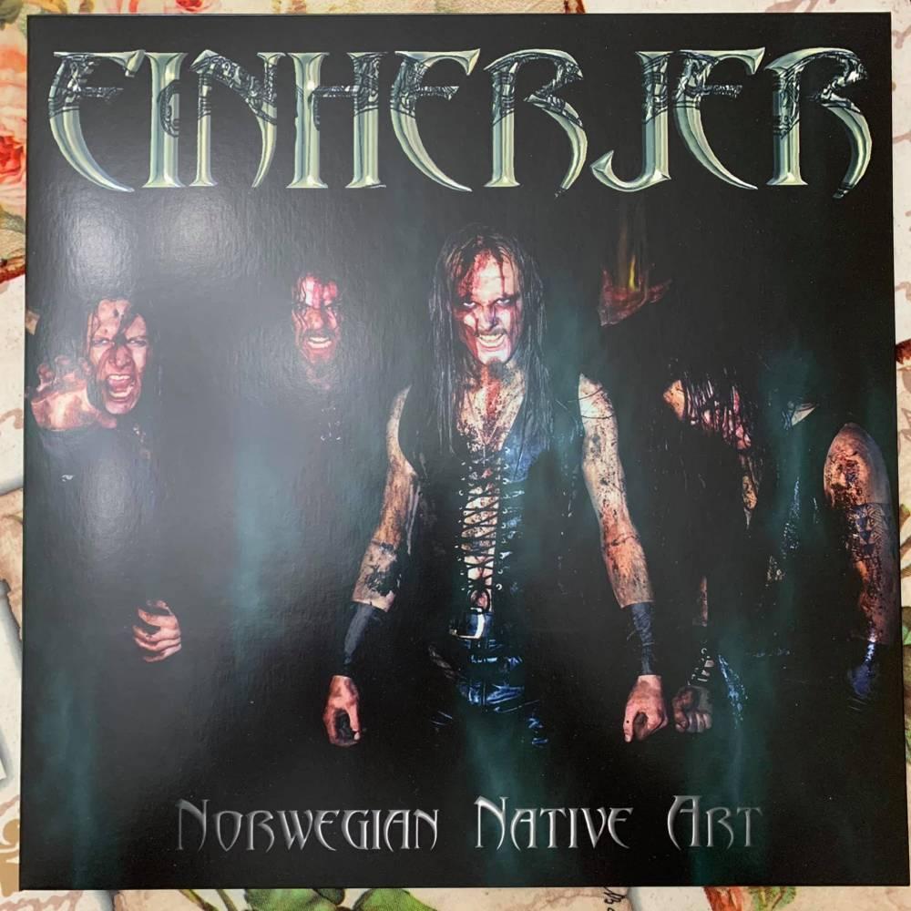 Einherjer en vinyle - Norwergian Native Art (actualité)