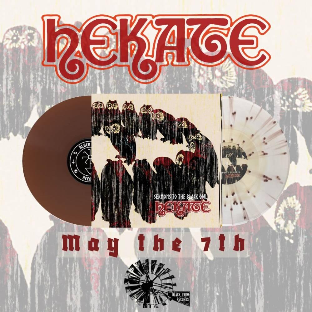 Hekate publie son recueil de sermons en vinyle - Sermons To The Black Owl (actualité)