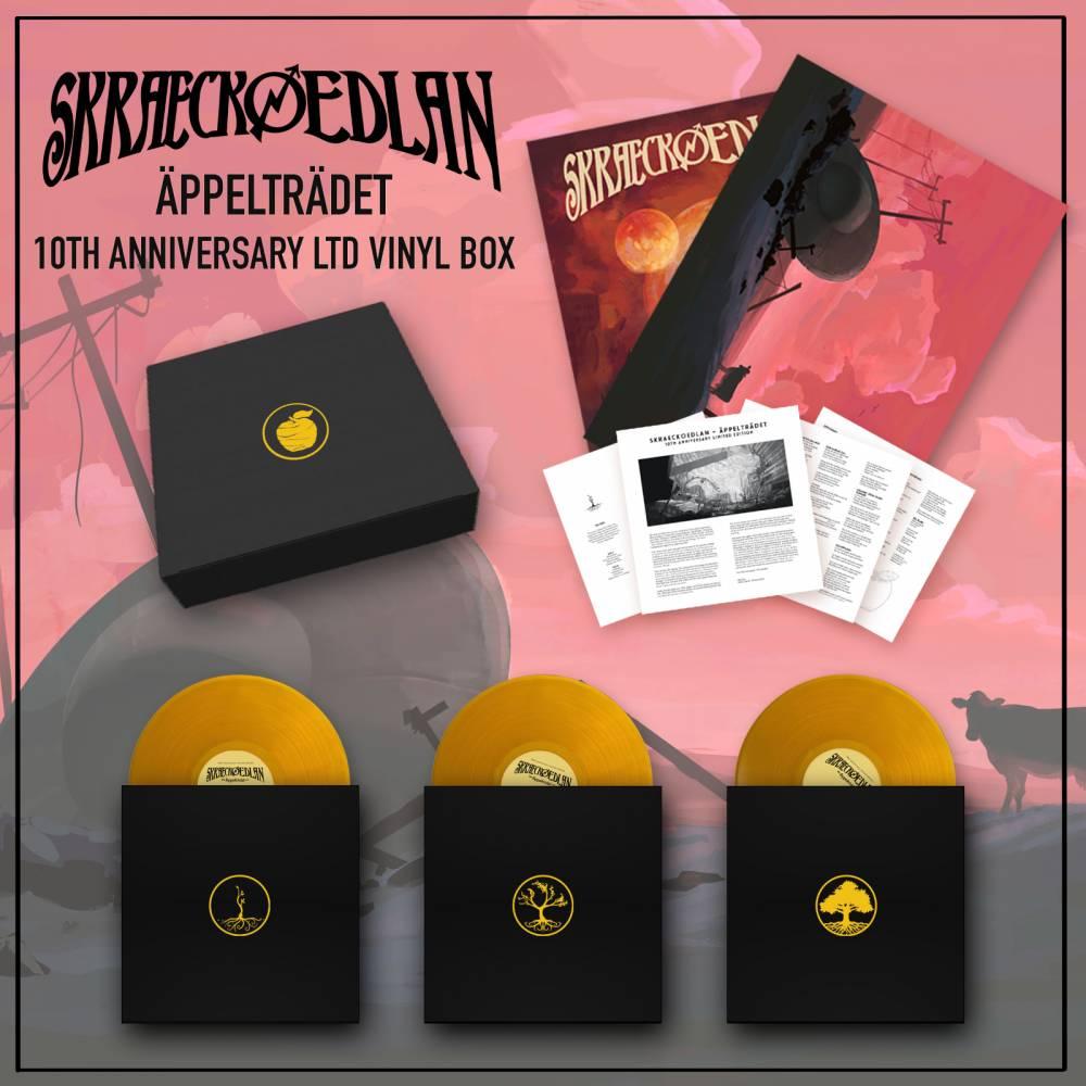 Skraeckoedlan fête les 10 ans d'Äppelträdet (actualité)