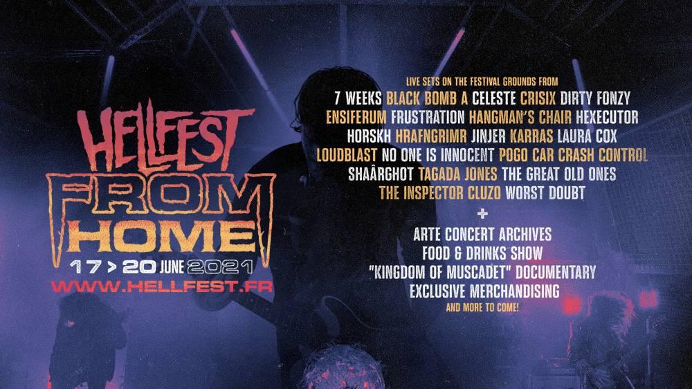 Le Hellfest 2021 à la Maison -  Hellfest From Home