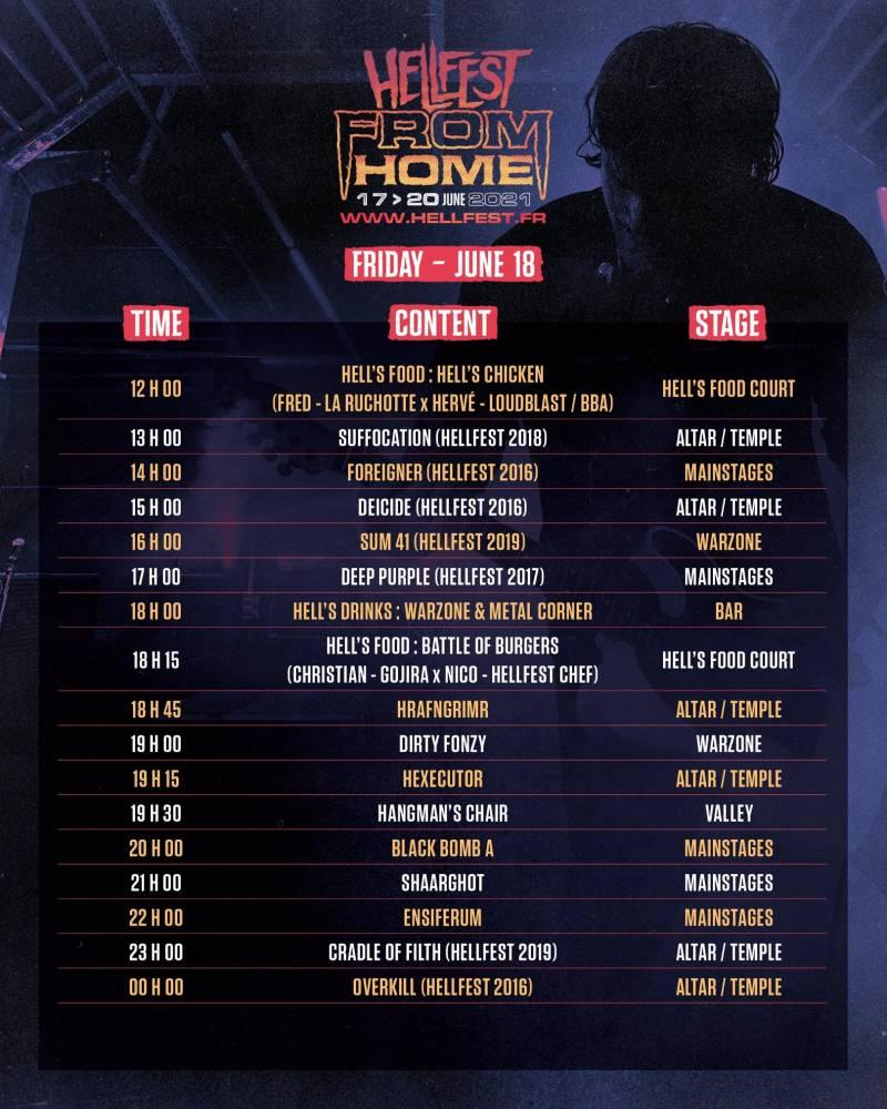 Le Hellfest from home ça continue  (actualité)