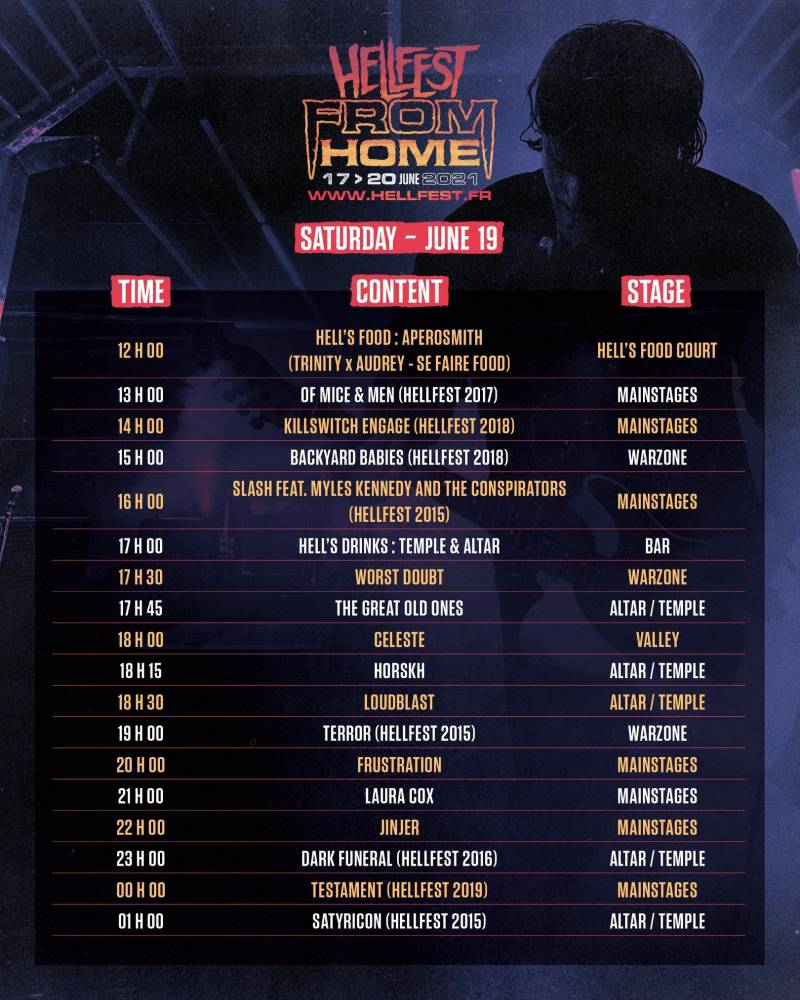 Le Hellfest from home sweet home la suite  (actualité)