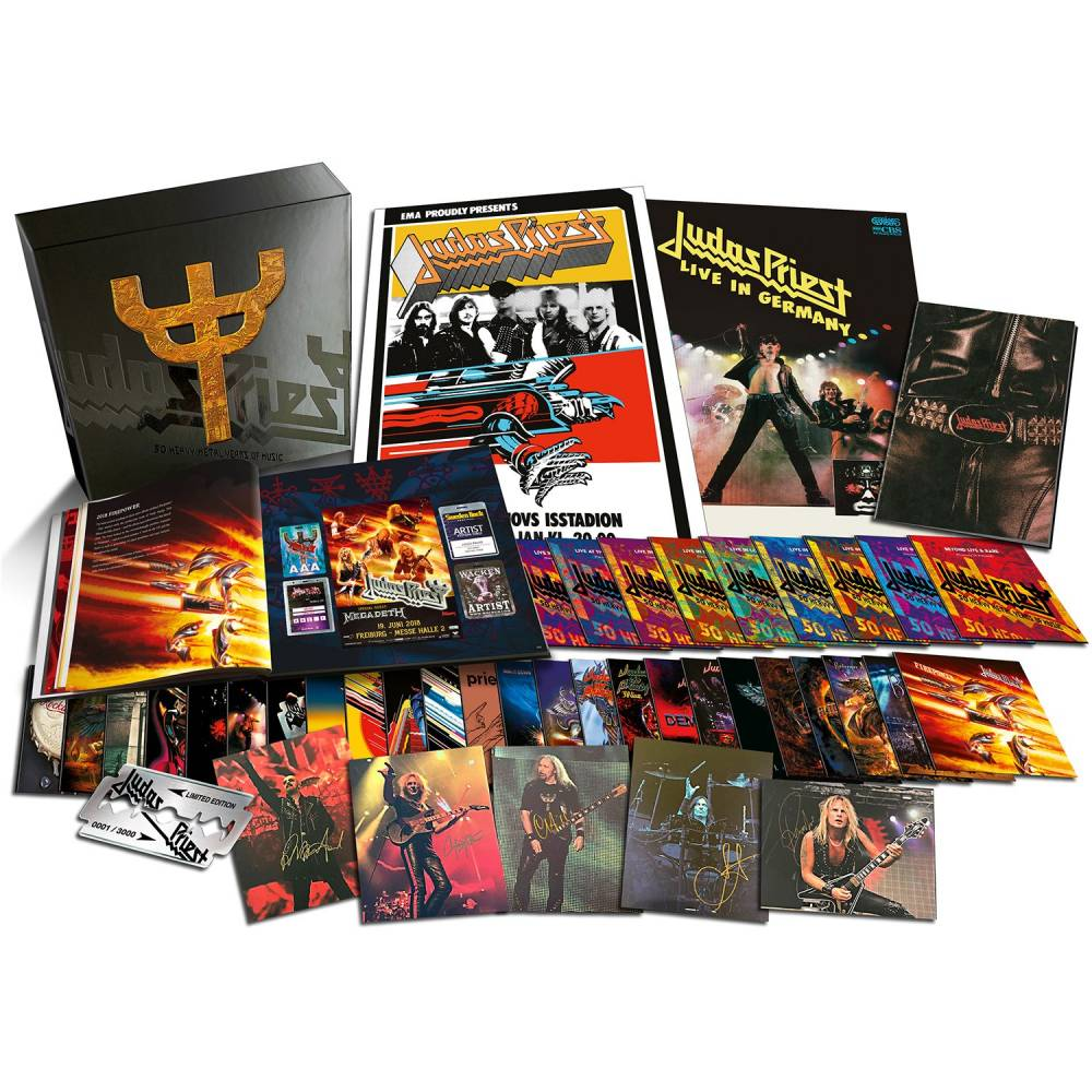 Judas Priest a 50 ans, le bel âge - 50 Heavy Metal Years Of Music (actualité)