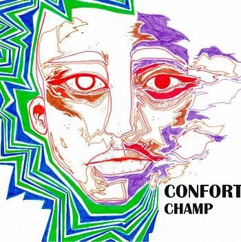 Confort se promène dans un Champ